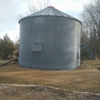 Convert a grain bin soon to be a gazebo